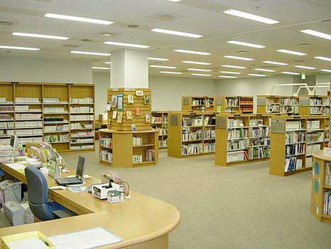 福島市西口ライブラリー(福島市立図書館分館)